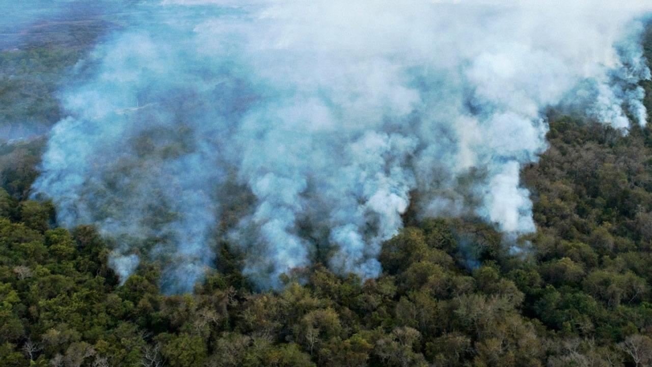 Incendios en Amazonía brasileña aumentaron un 120 % en octubre. Se registran más de 17 mil focos de incendio