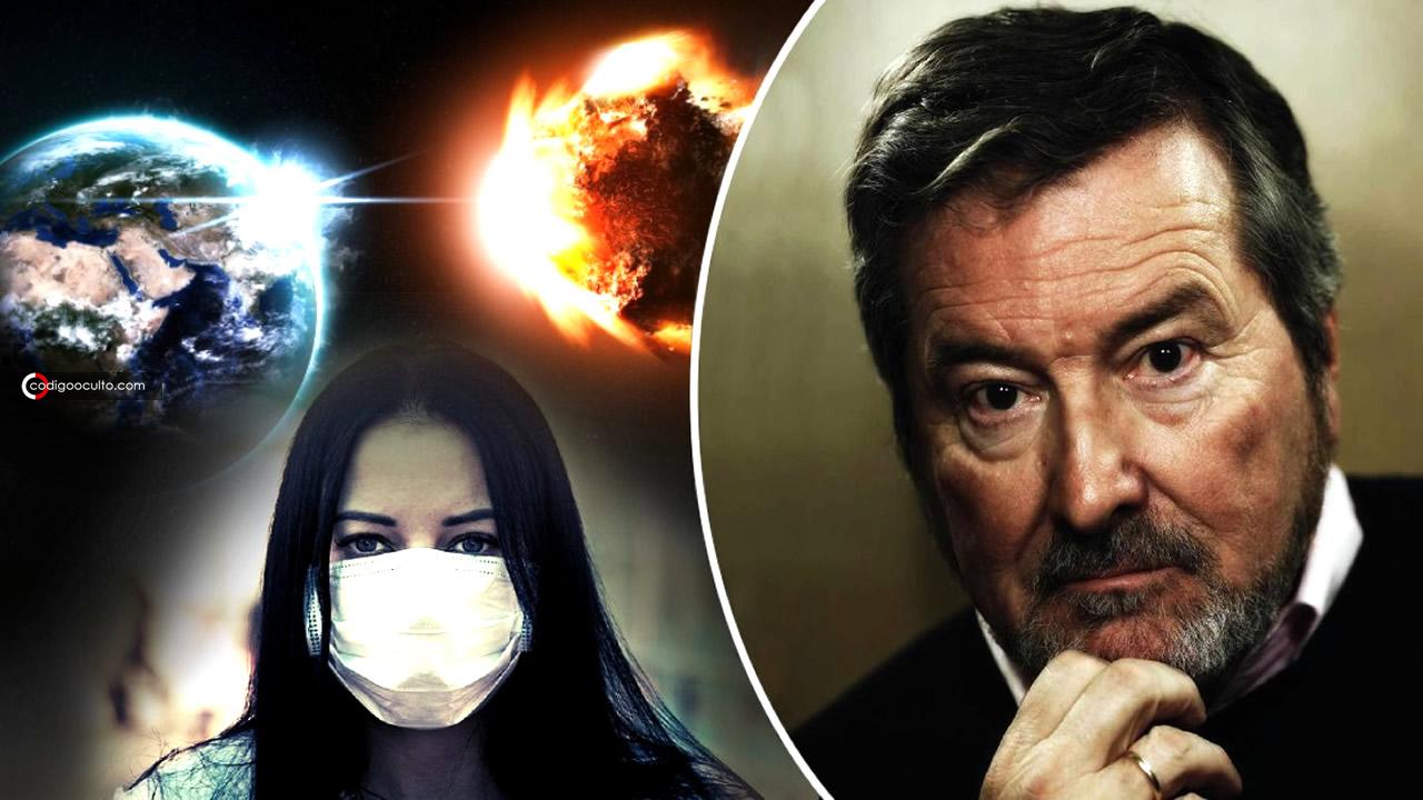 J. J. Benítez cree que la pandemia es un ensayo general para algo terrible que se avecina