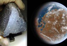 Este antiguo meteorito sugiere que había agua en Marte antes que hubiera vida en la Tierra