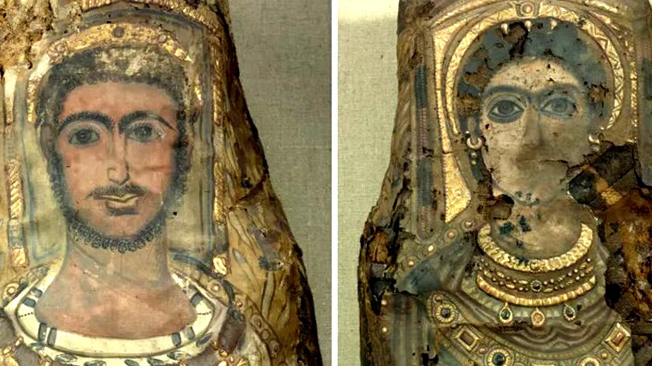 Revelan por primera vez los secretos de dos momias egipcias halladas en 1615
