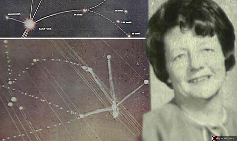 Ella fue abducida y dibujó el diagrama de una constelación alienígena