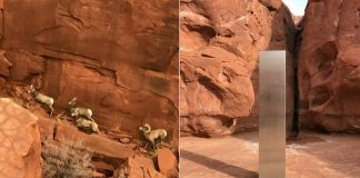 Misterioso Obelisco metálico es hallado en «medio de la nada» en Utah ¿Odisea del Espacio?