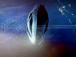 Extraño objeto capturado volando cerca de la Estación Espacial Internacional