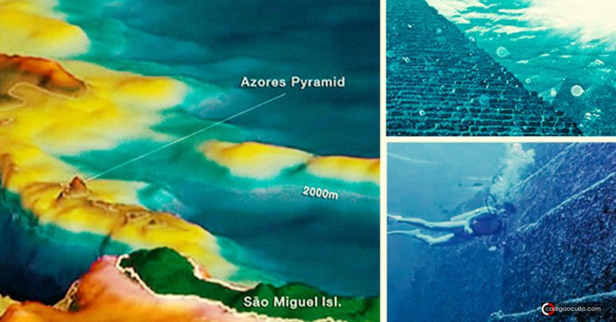 La Historia debe ser reescrita: ¿Una Pirámide de 100.000 años cerca de las Azores?
