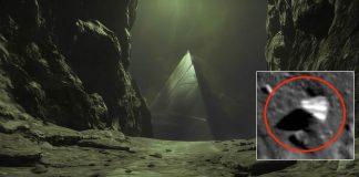 Descubren estructura con forma de pirámide en la Luna