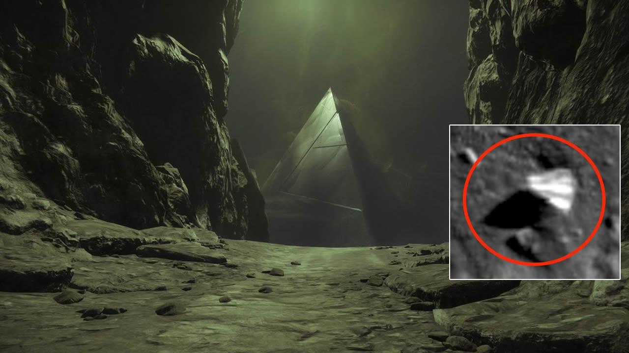 Descubren estructura con forma de pirámide en la Luna (VÍDEO)