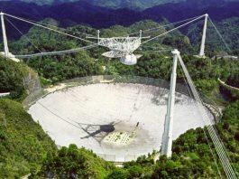 El Radiotelescopio de Arecibo de búsqueda de inteligencia extraterrestre será desmantelado