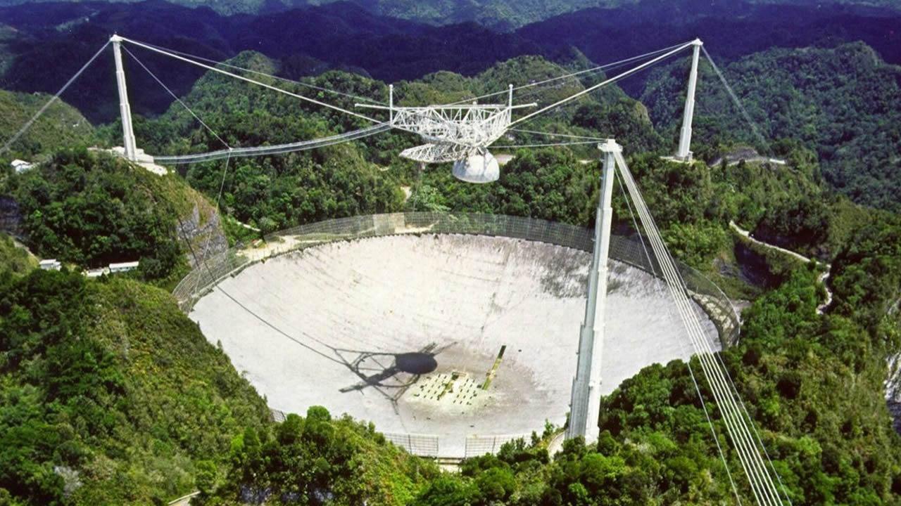 Radiotelescopio de Arecibo de búsqueda de inteligencia extraterrestre será desmantelado