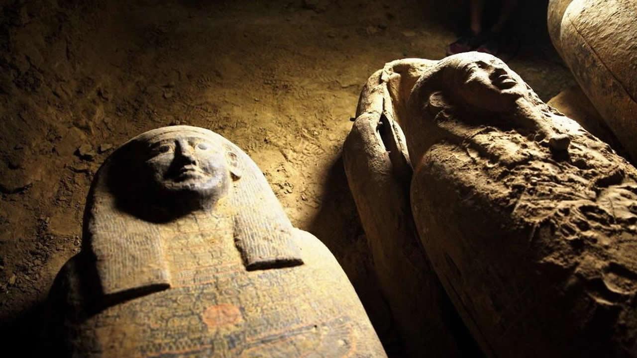 Egipto anuncia el «mayor descubrimiento arqueológico de 2020»