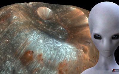 ¿Algo extraño en Fobos? La posibilidad de una luna artificial en Marte (VÍDEO)