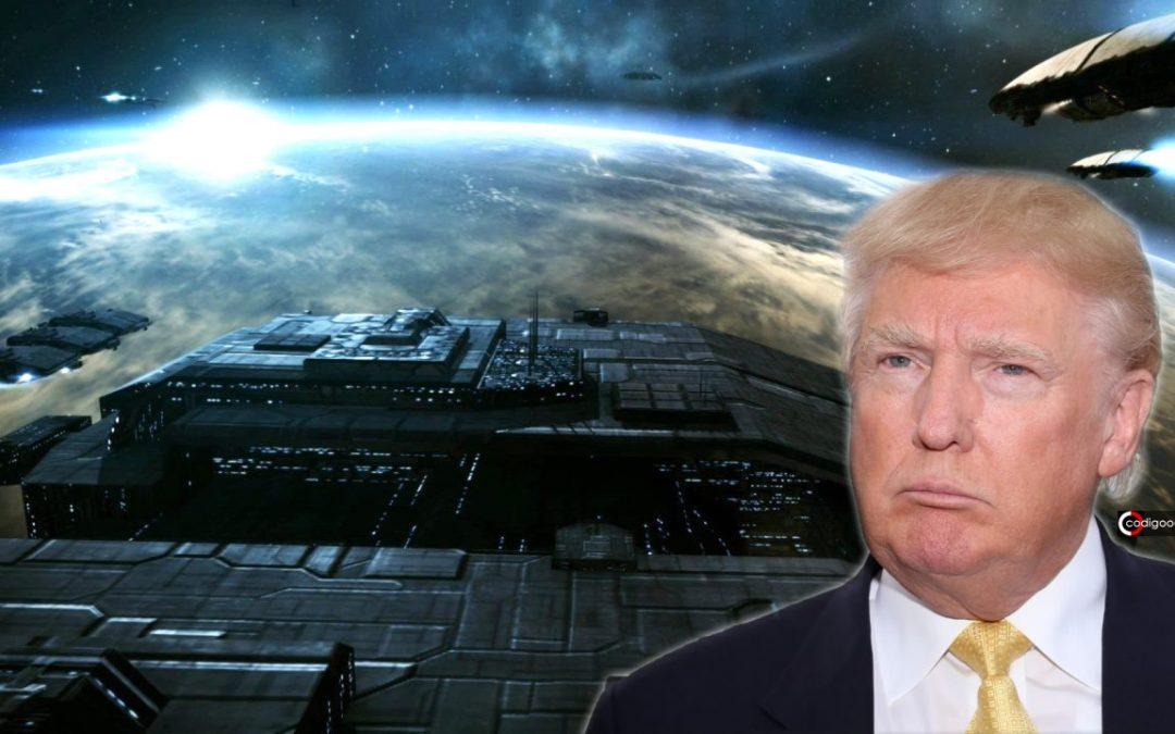 Federación Galáctica impidió que Donald Trump revelara su existencia, dijo ex funcionario de Israel