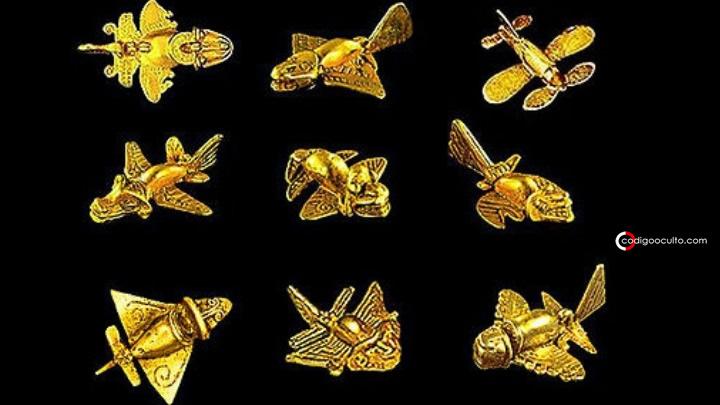 El asombroso «avión dorado antiguo» - Alta Tecnología en antiguas civilizaciones