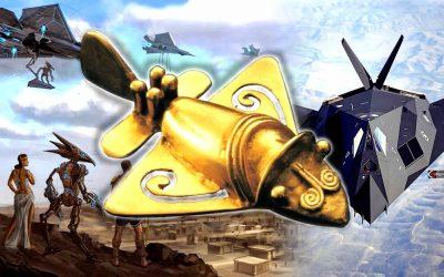 El asombroso «avión dorado antiguo» – Alta Tecnología en antiguas civilizaciones (VÍDEO)