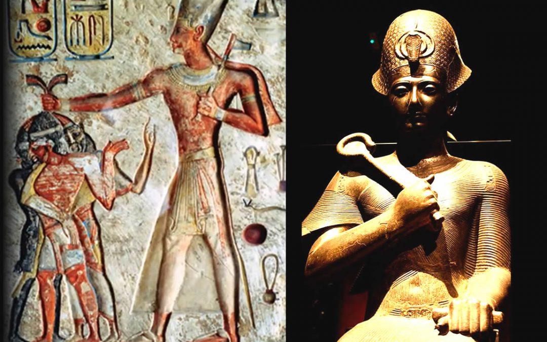 Sanajt, el Gigante Faraón «Nephilim» del antiguo Egipto