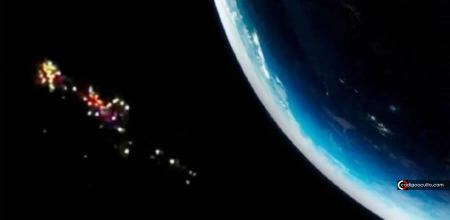 Reportan una «flota 150 objetos» no identificados en el espacio