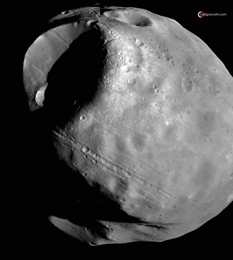 ¿Algo extraño en Fobos? La posibilidad de una luna artificial en Marte