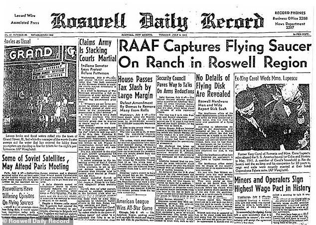 Funcionario que investigó incidente Roswell: «hallé restos indestructibles no hechos por humanos»
