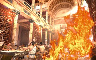 El incendio de la Biblioteca de Alejandría: El primer reseteo de la humanidad
