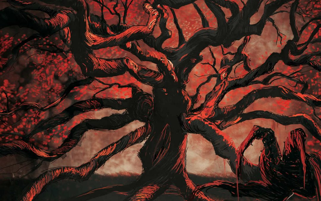 Jubokko: la Leyenda del árbol bebedor de sangre