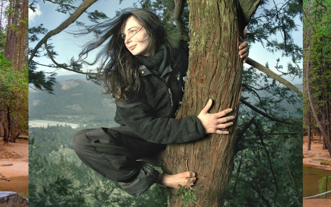 Julia Hill, la mujer que vivió dos años en un árbol para evitar que lo talaran