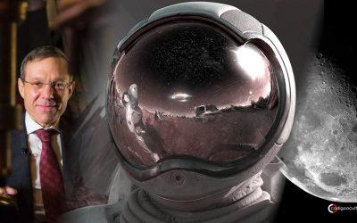 La Luna es una «red de pesca» para atrapar objetos interestelares, incluso vida extraterrestre, dice científico