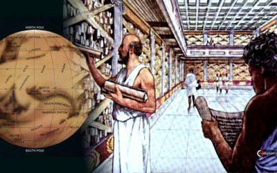 ¿Existió un antiguo mapa de Marte en la Biblioteca de Alejandría?