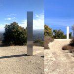 Reportan aparición de un nuevo monolito en California