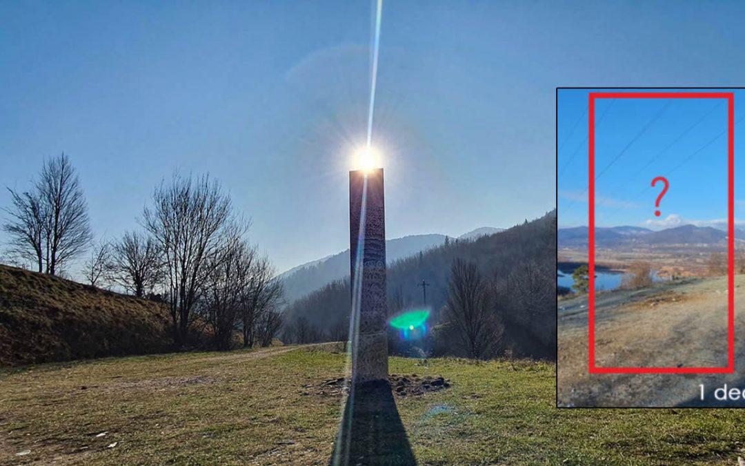 El Monolito de Rumania ha desaparecido, como ocurrió en Utah