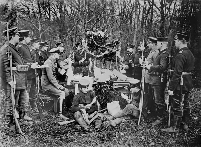 Tregua de Navidad: el evento que detuvo la Primer Guerra Mundial por unas horas