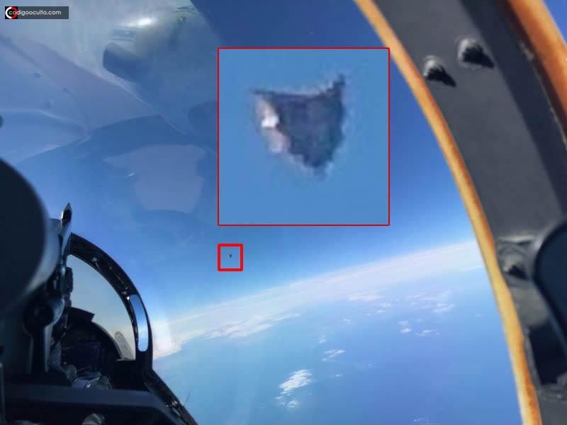 Revelan fotografía de un Fenómeno Aéreo No Identificado investigado por el Pentágono