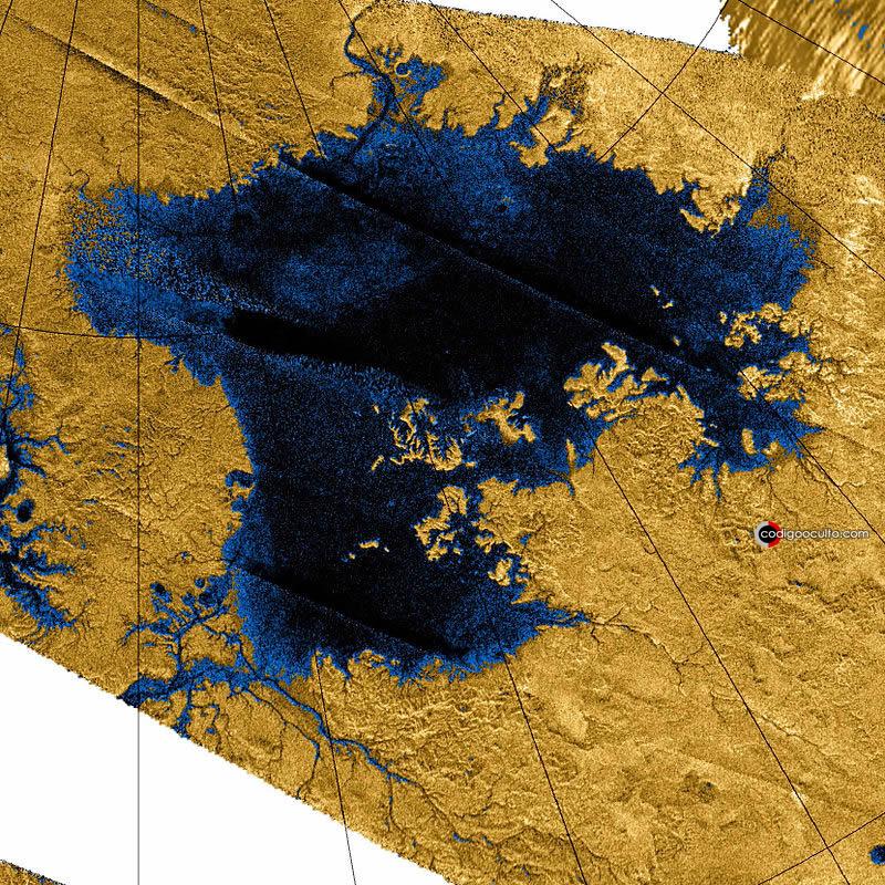 Océano de metano líquido de 300 metros de profundidad existe en Titán, luna de Saturno, sugieren astrónomos