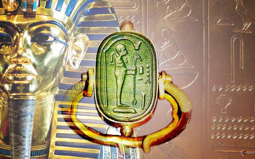 El anillo «alienígena» hallado en la tumba de Tutankamón