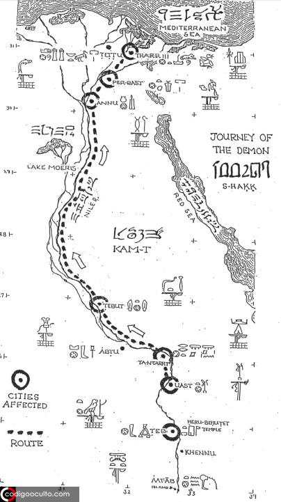 Una civilización «de otro mundo» invadió el antiguo Egipto en el año 1203 a.C.