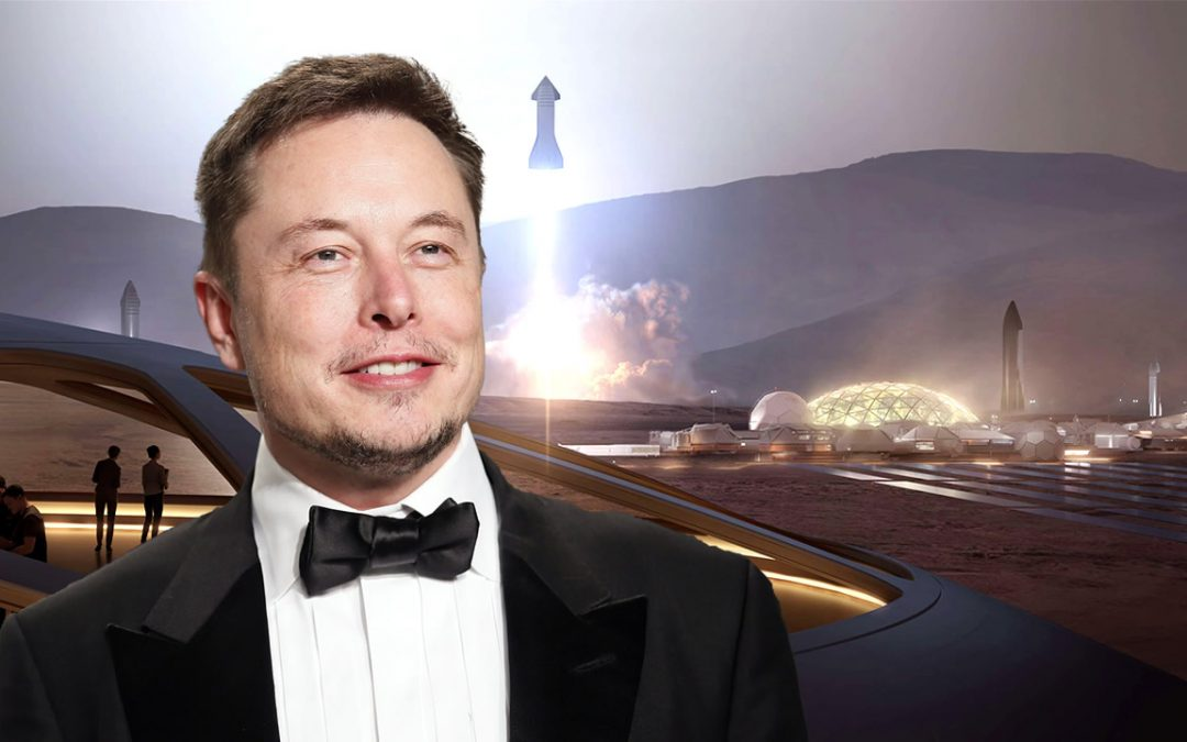 Elon Musk: la persona más rica del mundo, está vendiendo sus posesiones para colonizar Marte