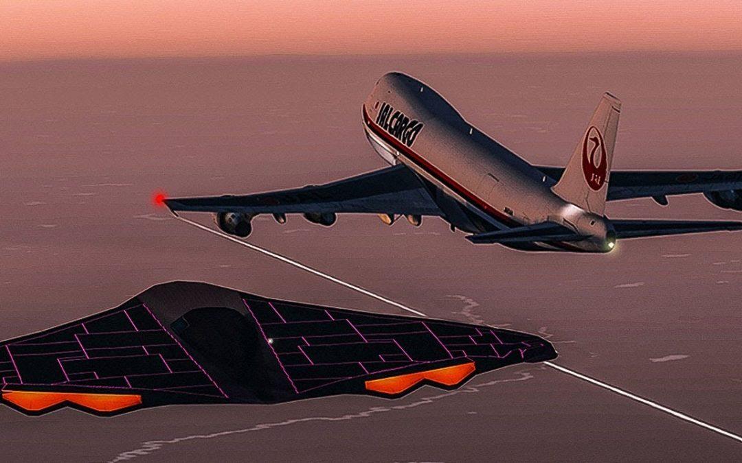 Encuentro fuera de este mundo: Vuelo JAL 1628 de Japan Air Lines se topó con enorme OVNI sobre Alaska