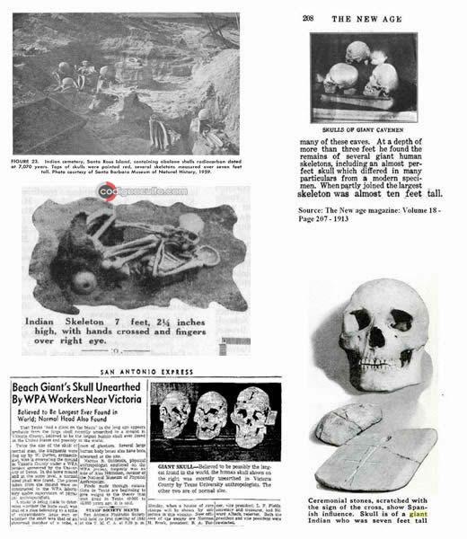 ¿Se destruyeron miles de esqueletos de Gigantes en 1900?