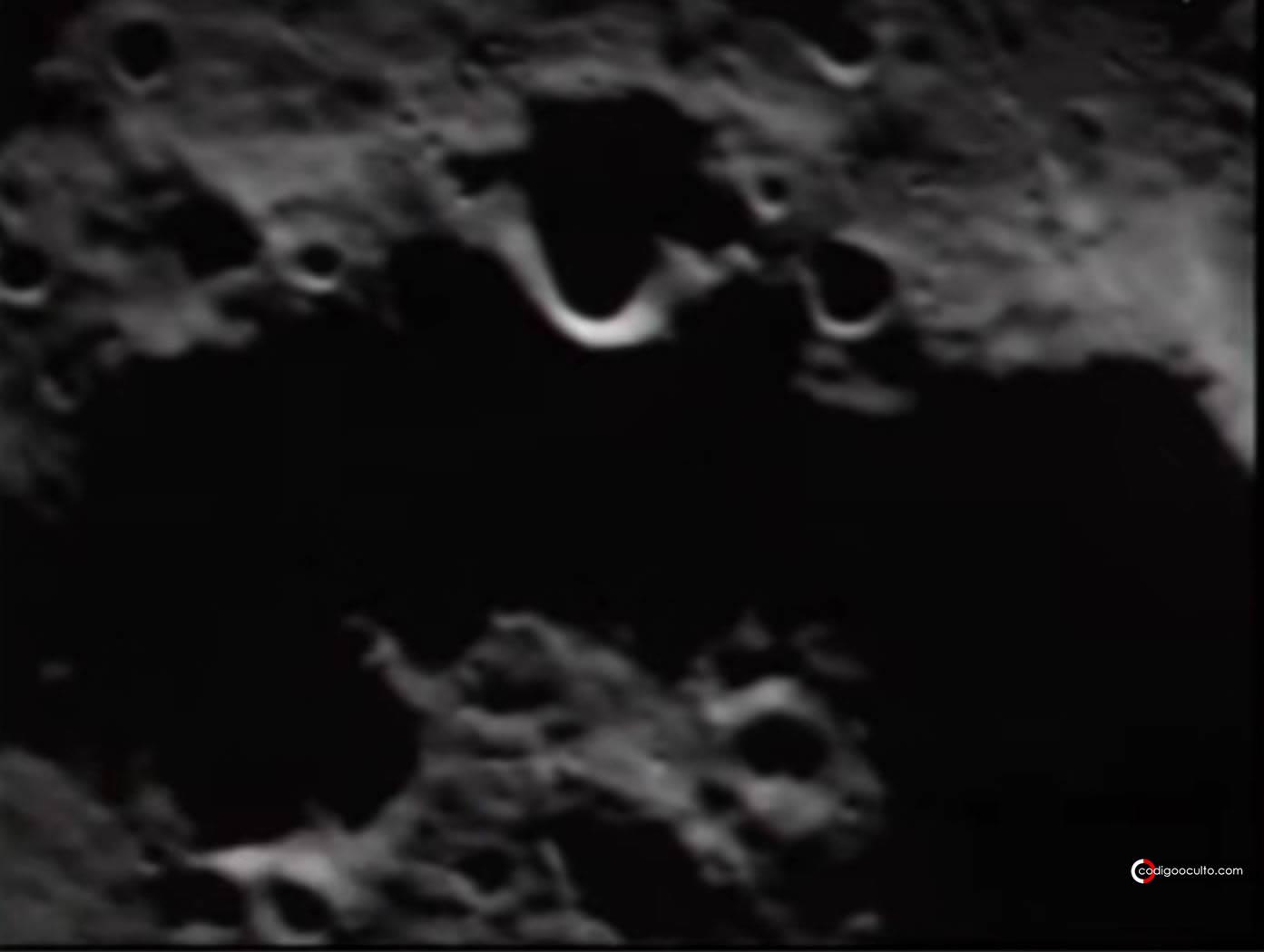 ¿Una «estructura artificial» fue encontrada en la Luna?