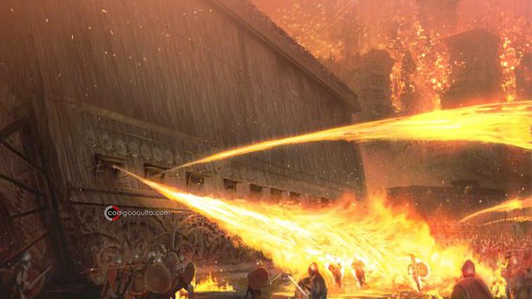 Fuego Griego y Armas de Plasma: Tecnología avanzada en la antigüedad