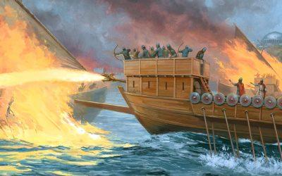 Fuego Griego y Armas de Plasma: Tecnología avanzada en la antigüedad (VÍDEO)