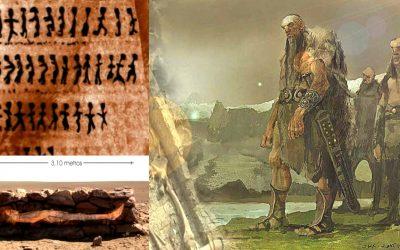 Humanoides Gigantes del Loa: enormes huellas y misteriosos geoglifos en Chile (VÍDEO)