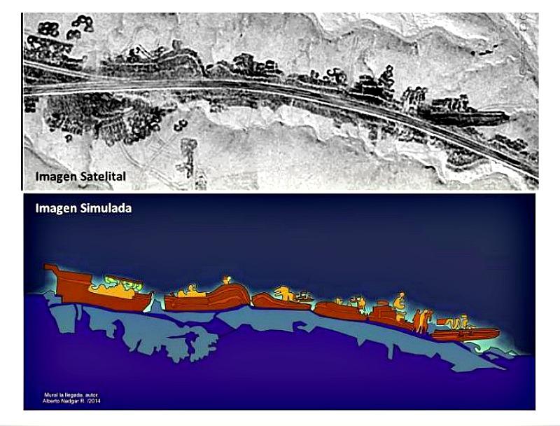 Humanoides Gigantes del Loa: enormes huellas y misteriosos geoglifos en Chile