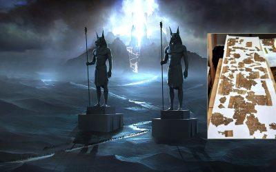 Hallan pergamino del «Libro de los Muertos» en antiguo templo funerario en Egipto