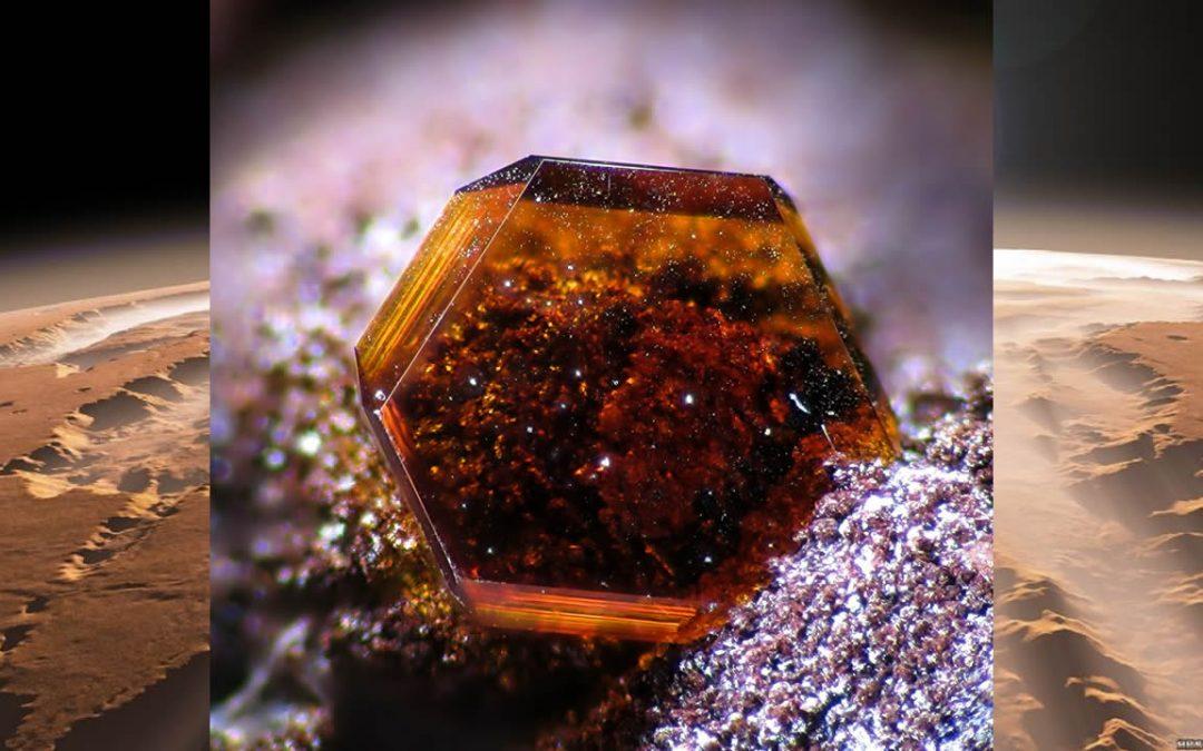 Mineral descubierto en la Antártida podría resolver un misterio de Marte