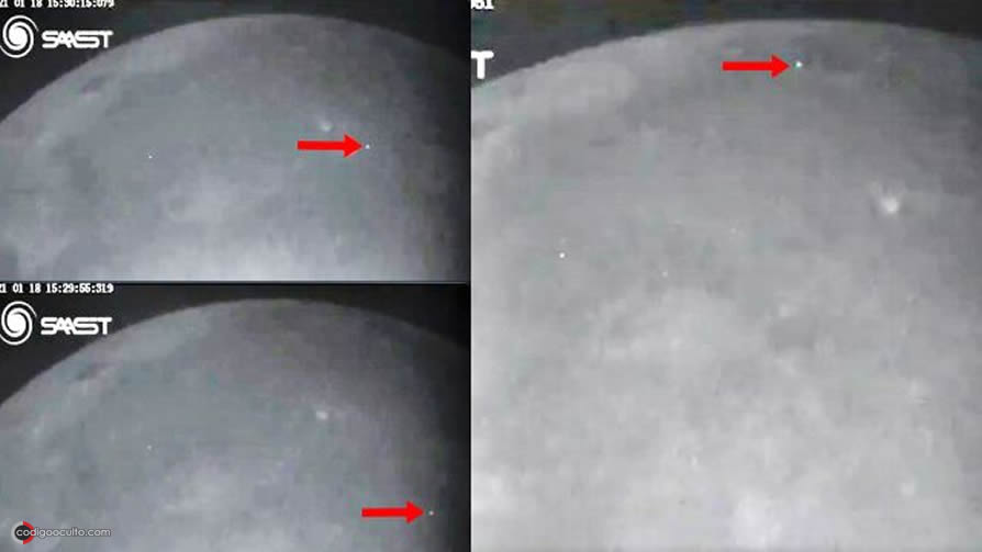Observatorio detecta una serie de raros impactos y explosiones en la Luna