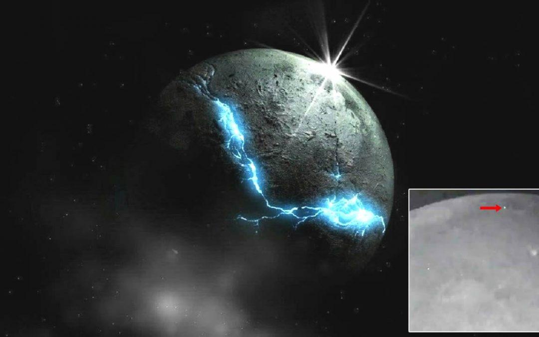 Observatorio detecta una serie de raros impactos y explosiones en la Luna (VÍDEO)