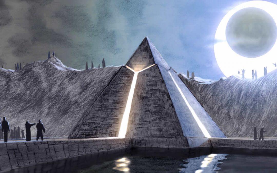 Pirámide ancestral de Armenia y la misteriosa estructura oculta de Dvin