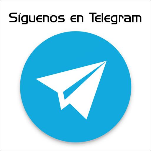 Síguenos en Telegram