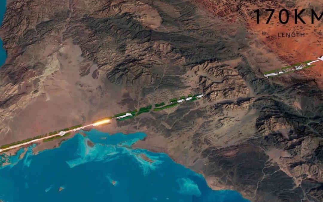 The Line: Arabia Saudita está construyendo una ciudad cero emisiones de carbono y en forma lineal