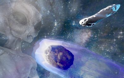 Viajeros interestelares: ¿Son Oumuamua y Borisov, sondas alienígenas espías?