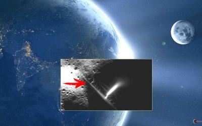 Algo muy extraño fue captado en la Luna (VÍDEO)